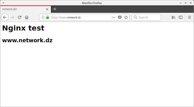Konfigurasi HTTPS pada Nginx CentOS 7