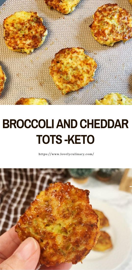 BROCCOLI AND CHEDDAR TOTS -KETO #healthy #recipe