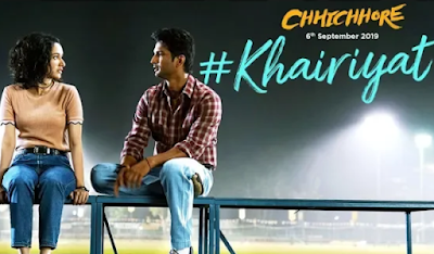 Khairiyat song lyrics | Chhichhore | Arijit singh new song 2019