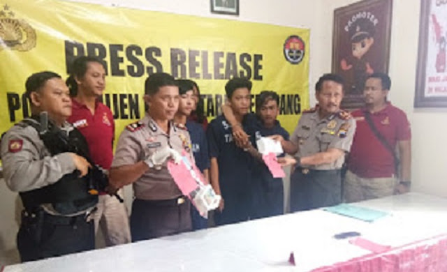 3 Pelaku Pemerasan Berhasil Diringkus SatReskrim Polsek Mijen Semarang
