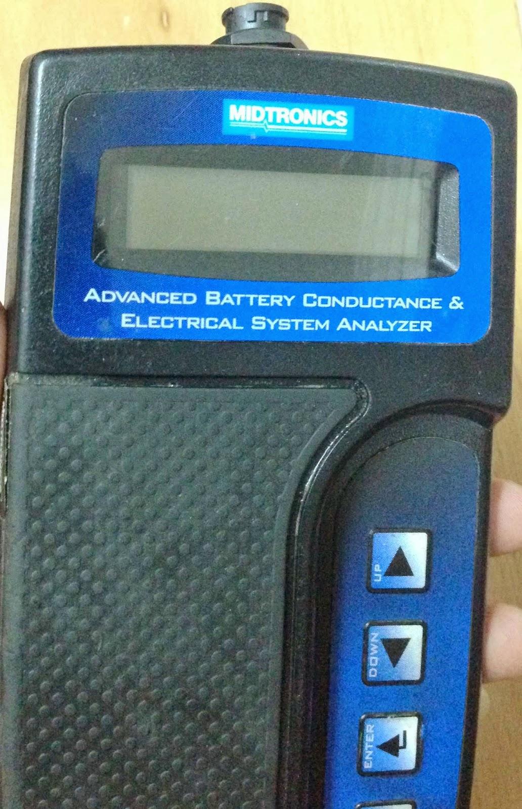 Midtronics micro 500 battery tester manualidades