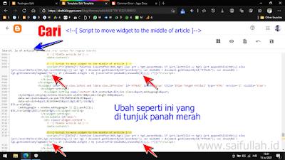 Cara Mengatasi Iklan Tengah Artikel Tidak Muncul di Template Median UI