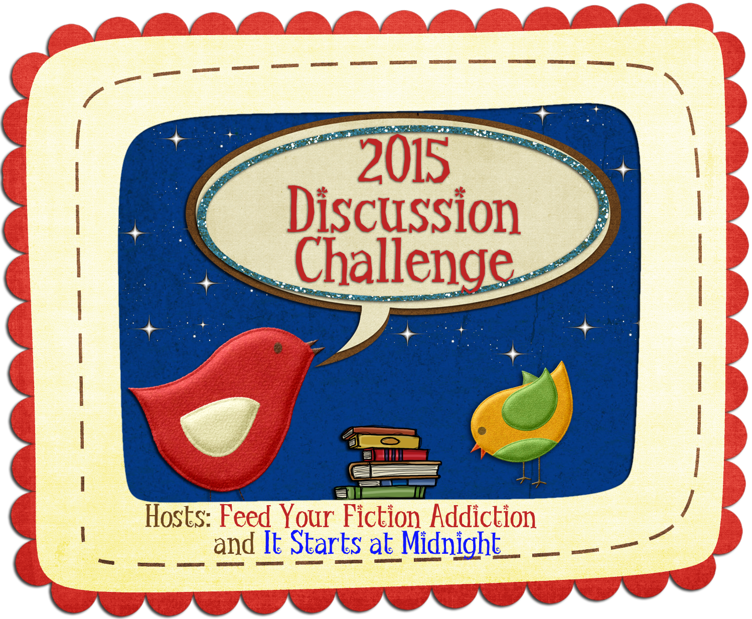 Book Discussion Challenge 2015 banner