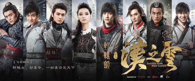 2017 cdrama Xuan Yuan Sword Legend of the Han Clouds