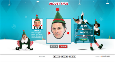 ElfYourself2012 - adjust elf face