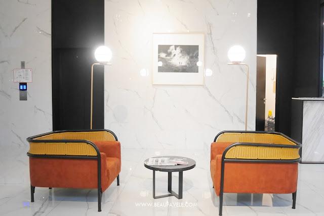 Area duduk di Lobi Hotel De Braga