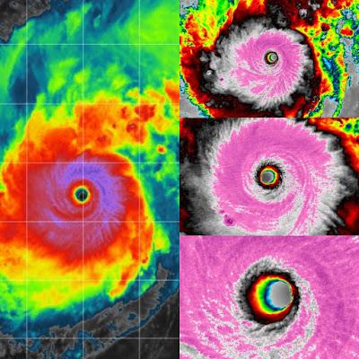 tifón Goni se convirtió en la tormenta más poderosa de la Tierra en 2020