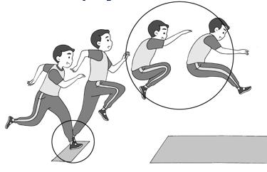 Atletik (Jalan Cepat, Lari Jarak Pendek, Lompat Jauh, dan Tolak Peluru)
