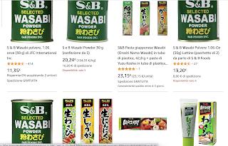 Amazon.itでの[SB wasabi]の検索結果
