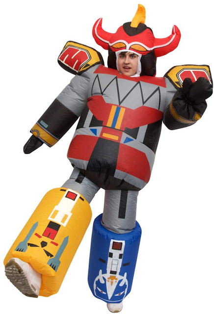 megazord power rangers costume halloween