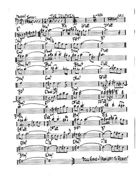 Partitura Violonchelo Bill Evans
