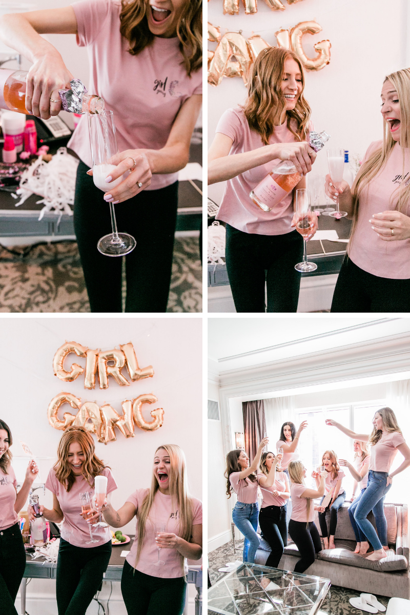 girl gang t shirts for bachelorette