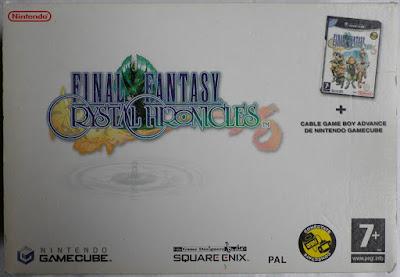 Final Fantasy Crystal Chronicles - Caja cartón delante