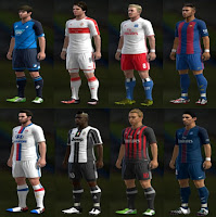 Kits Pack v1 Season 2016-2017 Pes 2013