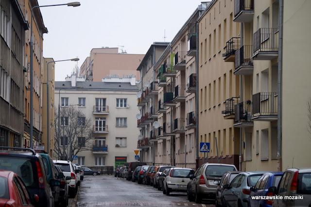 Warszawa Warsaw Mokotów Mokotow ulice Mokotowa architektura