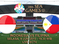 Indonesia U23 vs Filipina U23 SEA Games 2015