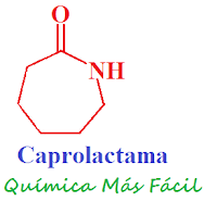 estructura química de la caprolactama