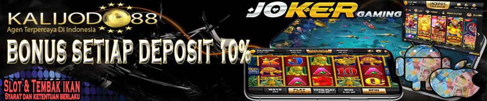 Bonus 10% Joker Gaming