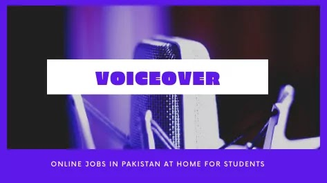 Voiceover Work Best Online Jobs at Home for students