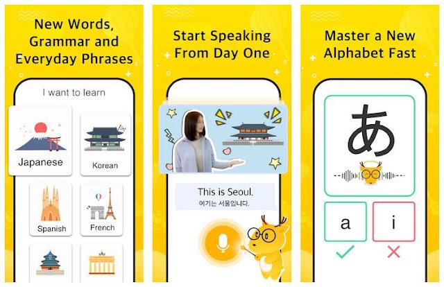 Aplikasi LingoDeer - Bahasa Korea