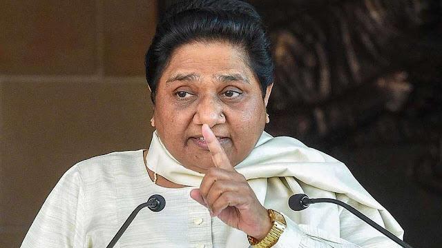 विफलता छिपाने के लिए लिया जा रहा है धारा 144 का सहारा:मायावती - newsonfloor.com