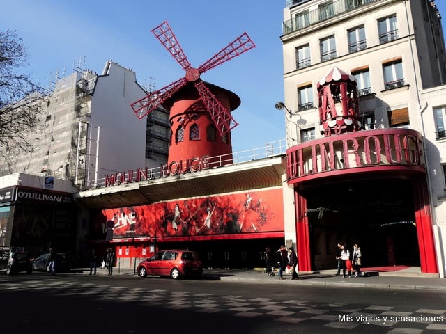 Cabaret Moulin Rouge, París