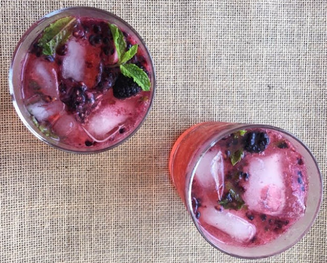 Purple Gin and Tonics #drinks #halloween