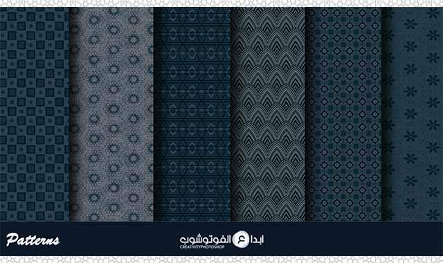 6 Midnight Blue Patterns