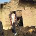 यूपी : बांदा में संदिग्ध हालात में घर में लगी आग, जिंदा जली मां और तीन बच्चे