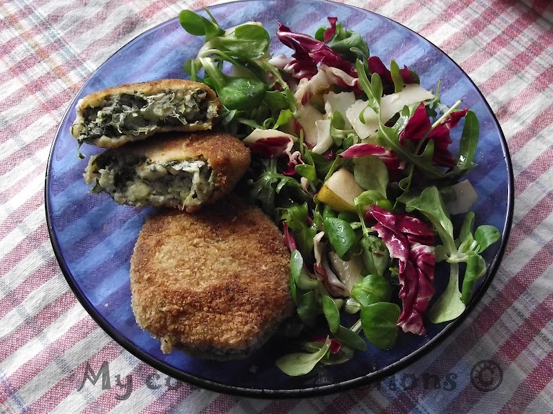 Спаначени котлети * Polpette di spinaci