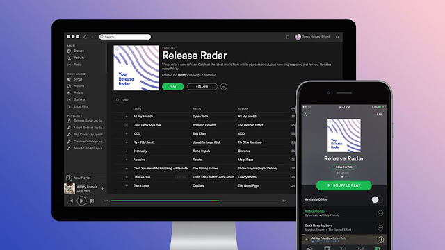 Release Radar: The New Feature of Spotify