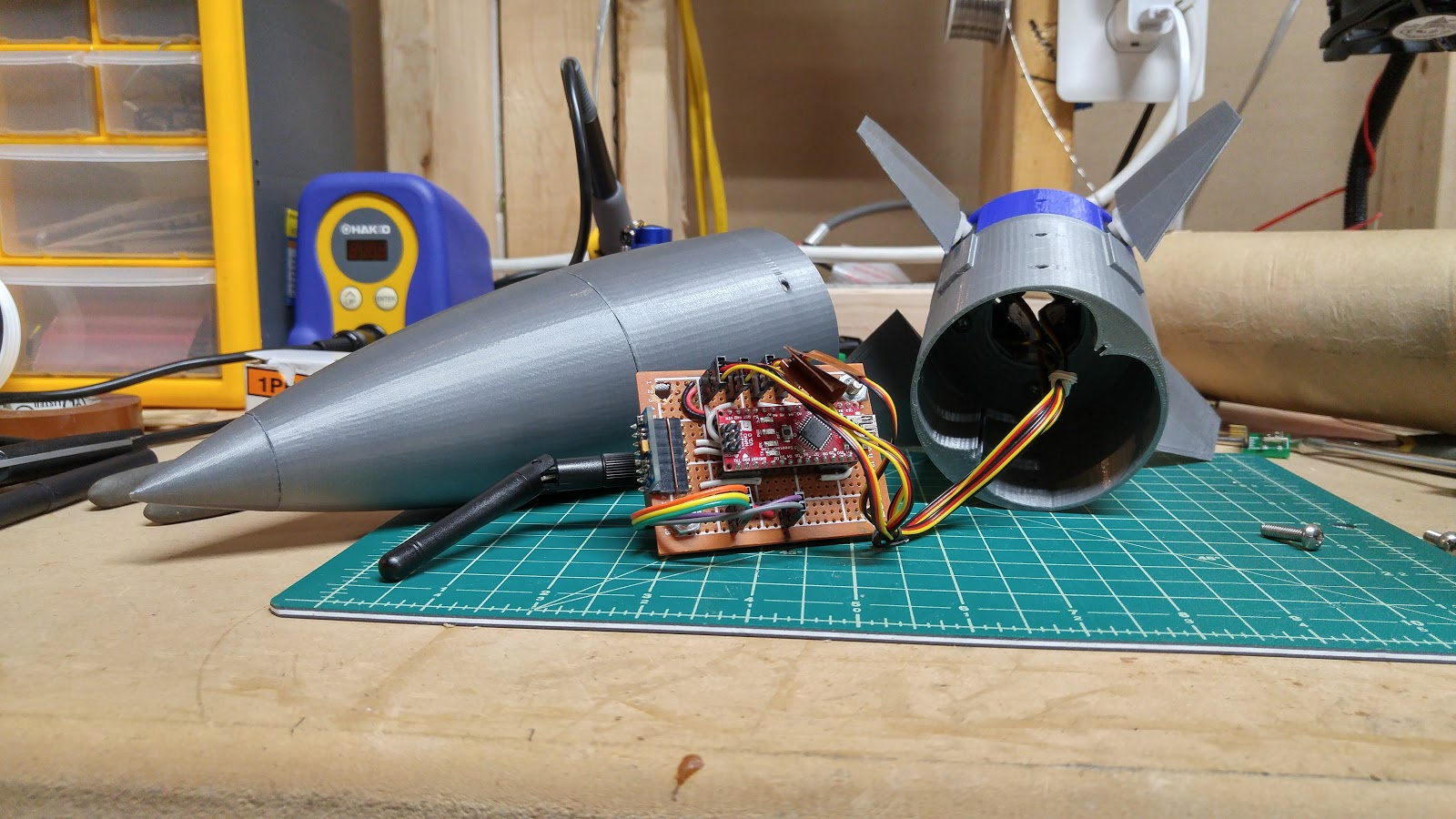 Arduino Rocket Stabilization System Ud 7 14 17 Flying Hobby Sharing Agic Print Printing Circuit Boards With Realized To My Dismayand Likely Yours That I Will Be Unable Open Source This Guidance Project Due Itar And Being Classified As