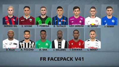 PES 2017 Facepack v41 by FR Facemaker
