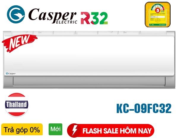Điều hòa Casper KC-09FC32, 9000BTU 1 Chiều | CASPER KC09FC32
