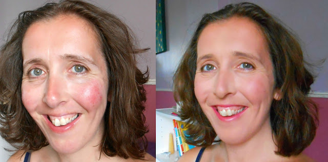 Before and After - Urban Minerals - Mineral Make-up With Soul - Product Review