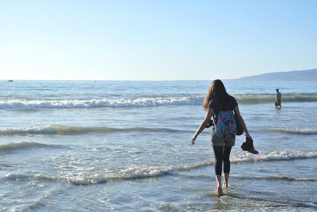 beach sea ocean santa monica