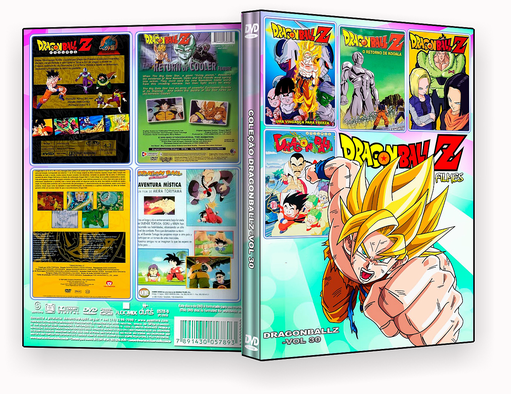 CAPA DVD – Dragon Ball Z Filmes 4 em 1 Vol.30 – ISO