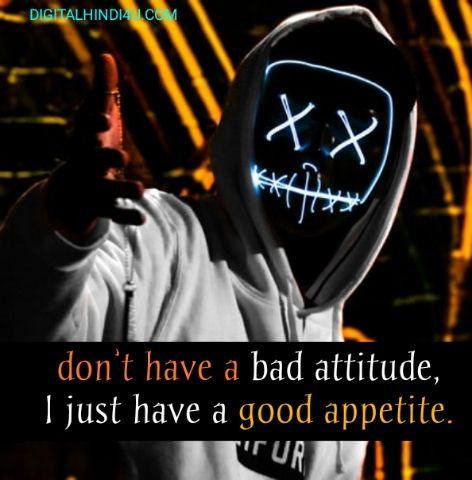 Boys Attitude Status in Hindi For Whatsapp