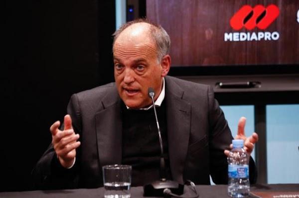 """Javier Tebas lo confirma: """"LaLiga empezará con público"""""""