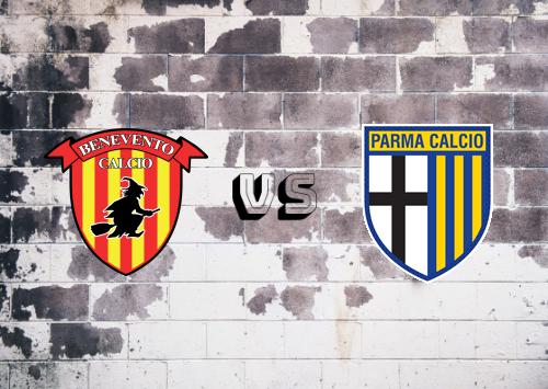 Benevento vs Parma  Resumen