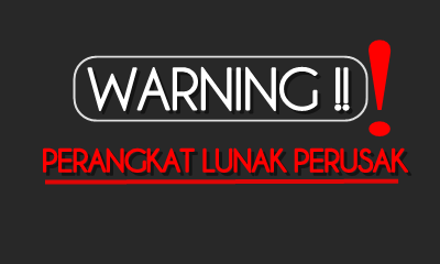 WARNING UNTUK VISITOR