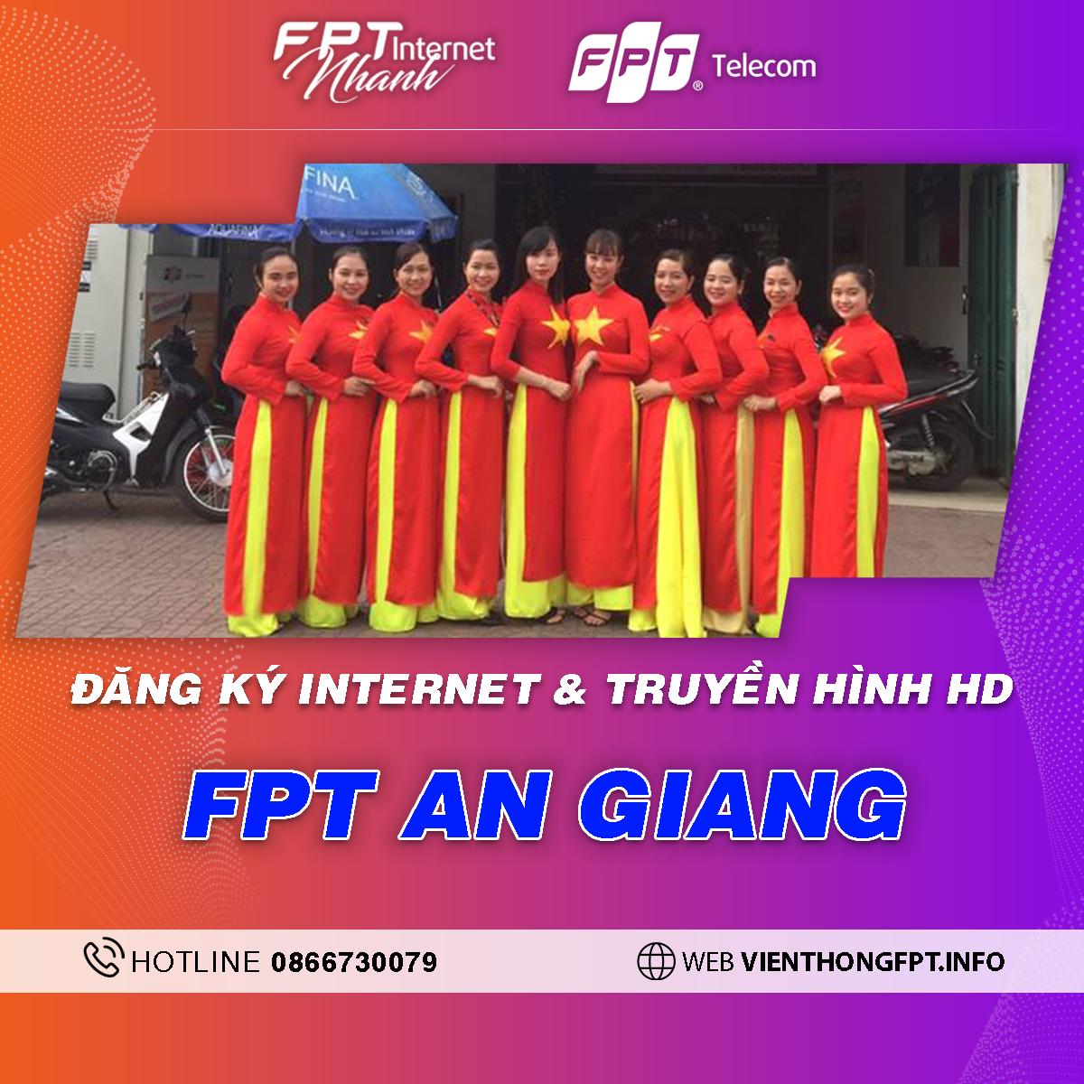 FPT An Giang - Tổng đài lắp mạng Internet + Truyền hình FPT