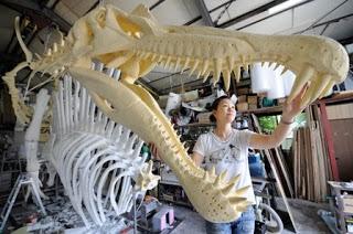 La mandíbula del Spinosaurus