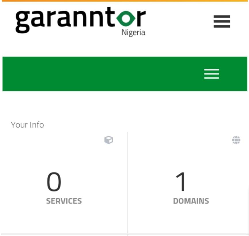 Garrator Domain Page