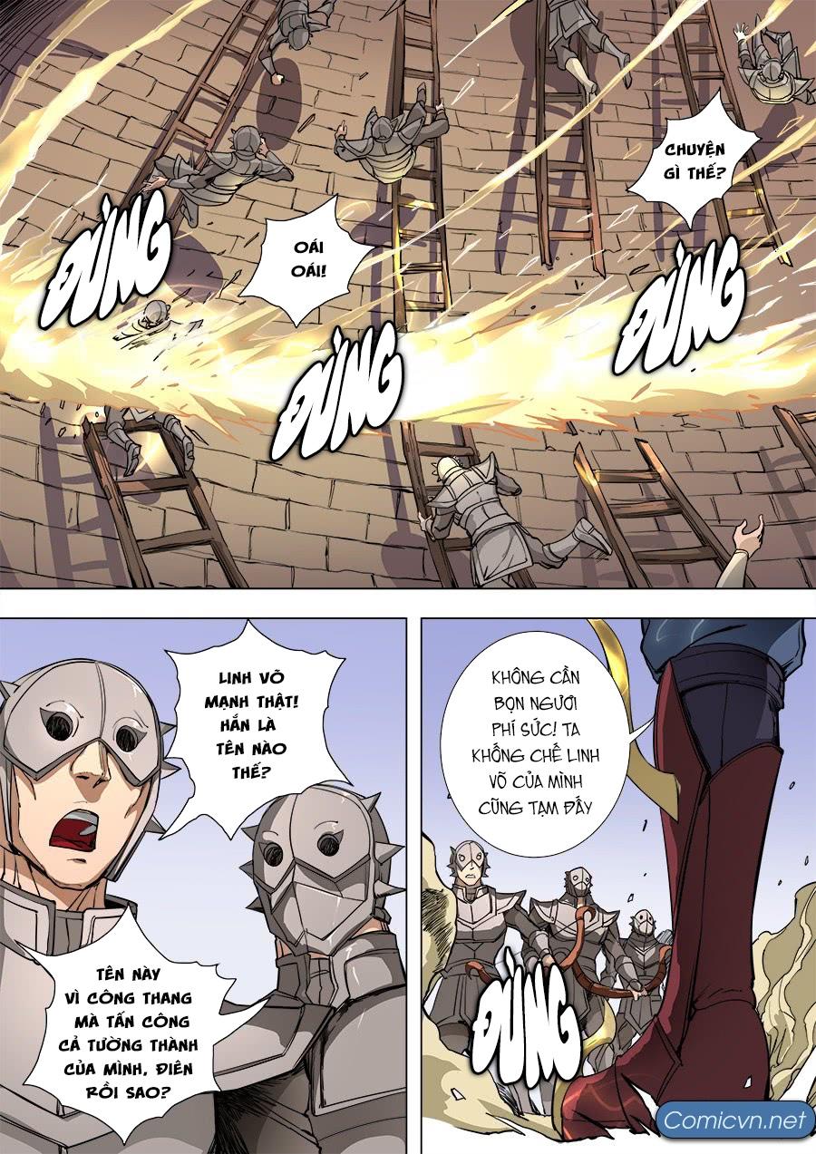 Đường Dần Tại Dị Giới Chap 198 - Trang 7
