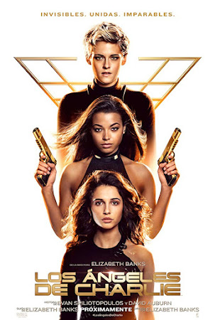 Poster Of Free Download Charlie's Angels 2019 300MB Full Movie Hindi Dubbed 720P Bluray HD HEVC Small Size Pc Movie Only At worldfree4u.com