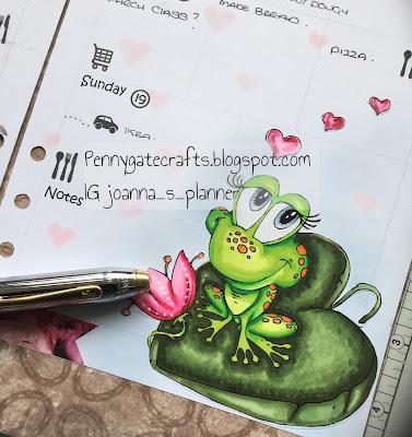 valentine-frog-planner-joanna-stamped
