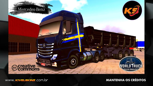 NEW ACTROS - PERFORMANCE EDITION BLACK