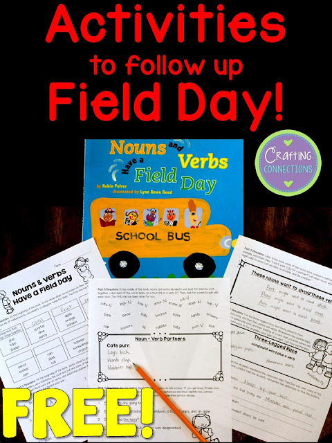 This book is a perfect read-aloud for students in grades 2-5 on Field Day! Plus, this blog post contains several FREE followup activities!