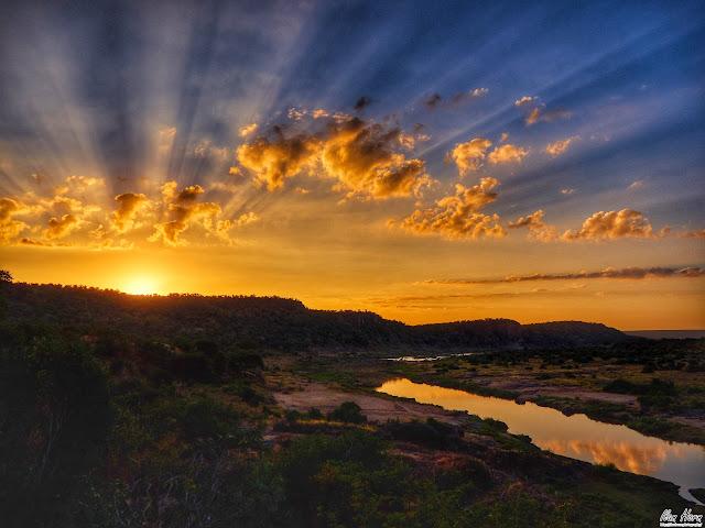 Sunrise at Kruger